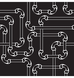 Seamless pipes vector