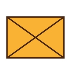 Email or mailing isolated flat icon design vector