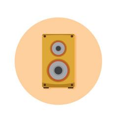 Audio speaker studio graphic vector