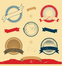 Graphic banner and icons collection vector