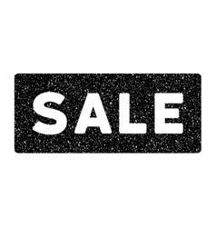 Sale banner grainy texture icon vector