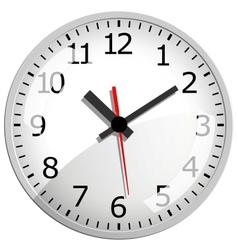 Wall clock vector image