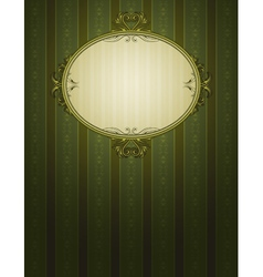 Green classical background vector