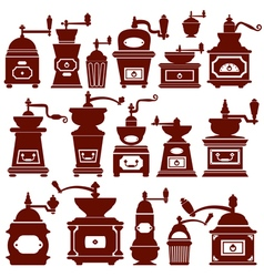 coffee mill 380 vector image
