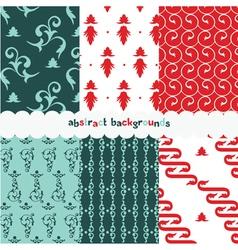 Summer vintage pattern vector