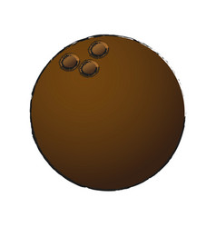 Coconut fruit ico vector