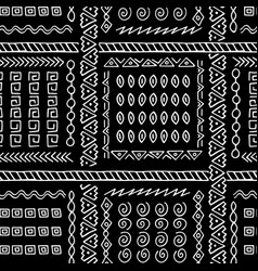 Hand drawn ethnic style seamless pattern vector
