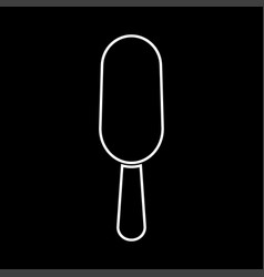ice cream it is icon vector image