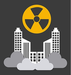 Radioactive contamination vector