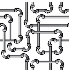 seamless pipes vector image