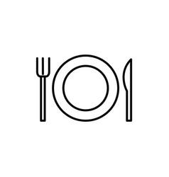 Setout icon vector
