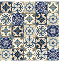 Mega gorgeous seamless patchwork pattern from vector