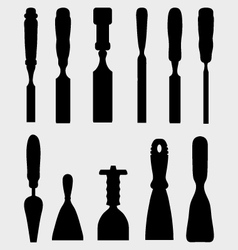 Chisels vector