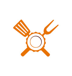 Logo restaurant vector