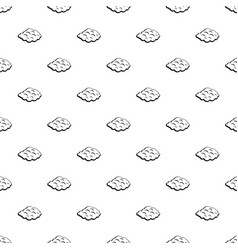 Small cloud pattern vector