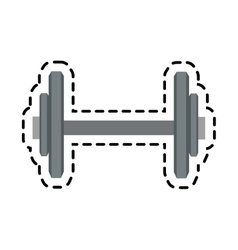 Isolated weight of training design vector