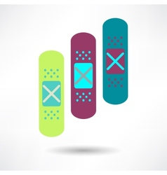 Bandage health amp medical icon vector