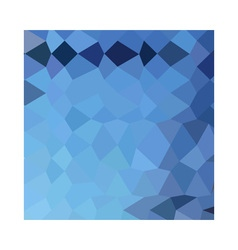 Blizzard blue abstract low polygon background vector