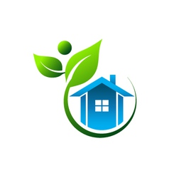 Natural House vector image