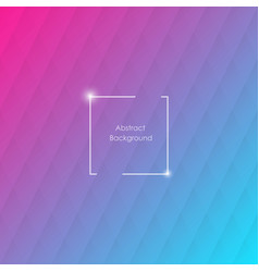blue and pink geometric background with rhombus vector image