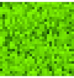 Green pixel background vector