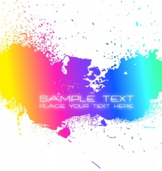 artistic background vector image vector image