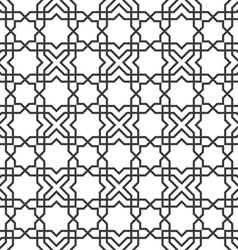 Delicate seamless pattern in islamic style vector image