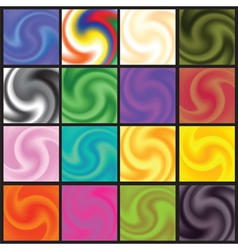 set of abstract background vector image vector image