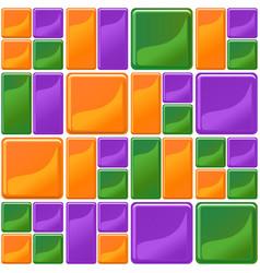 multicolor tiles texture seamless vector image
