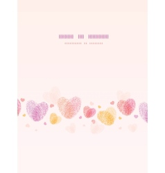 Fingerprint heart vertical romantic background vector