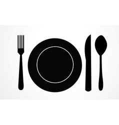 Meal icon vector