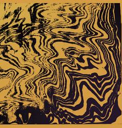 Gold suminagashi abstract background vector