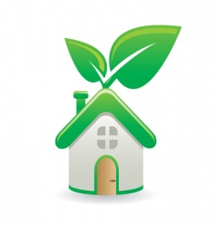 green house vector image vector image
