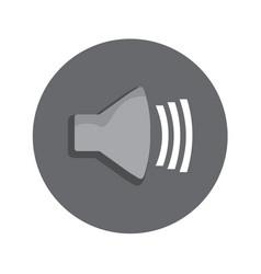 Volume level icon graphic vector