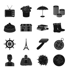 Astronomy memory travel and other web icon in vector