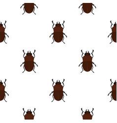 Bug pattern seamless vector