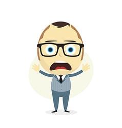Clueless businessman vector