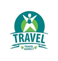 logo travel vector image vector image