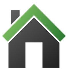 Home gradient icon vector