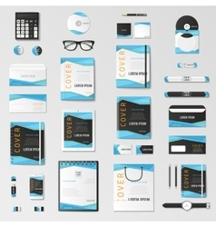 Mock up set vector
