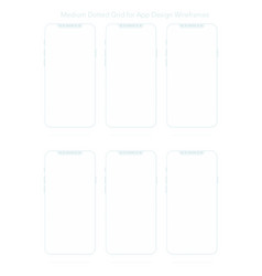 a4 dotted paper for app designs vector image vector image