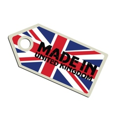Made in United Kingdom vector image vector image