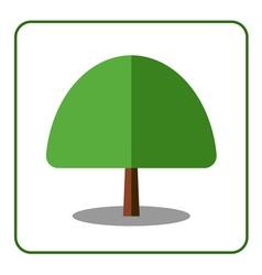 Maple tree icon vector image vector image