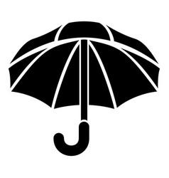 Nylon umbrella icon simple style vector