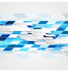 Abstract hi-tech geometric bright background vector