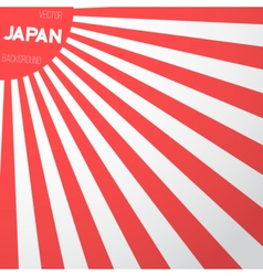 Japan flag background vector