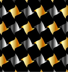metallic tile background vector image vector image