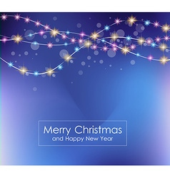 2016 merry christmas and happy new year background vector