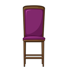 A chair vector image