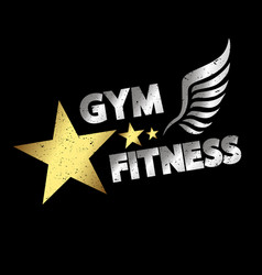 gym amp fitness vector image